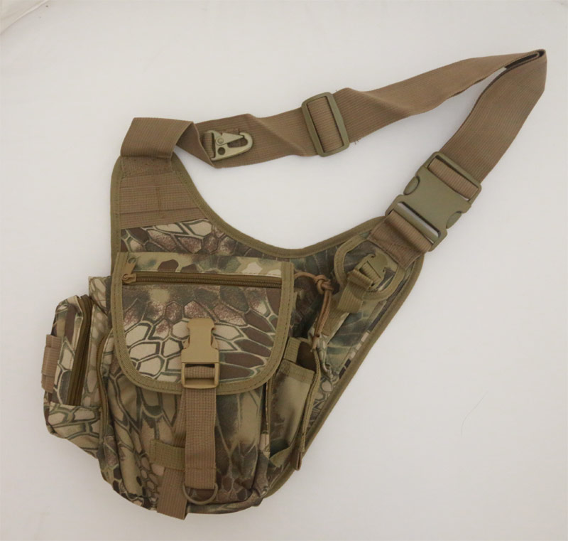 Tactical Lightweight Utility Shoulder Pack - Python Snake Camo - HLD Highland