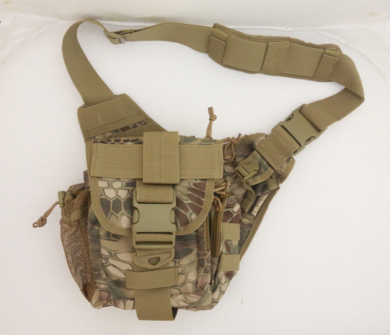 Tactical Super Utility Shoulder Pack - Python Snake Camo - HLD Highland