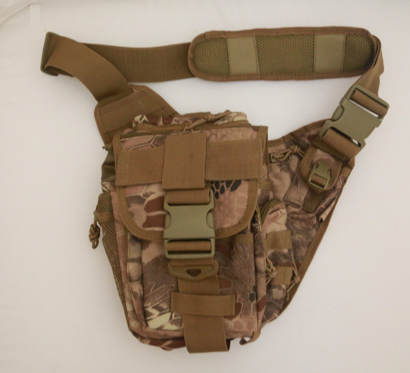Tactical Super Utility Shoulder Pack - Python Snake Camo - MAD