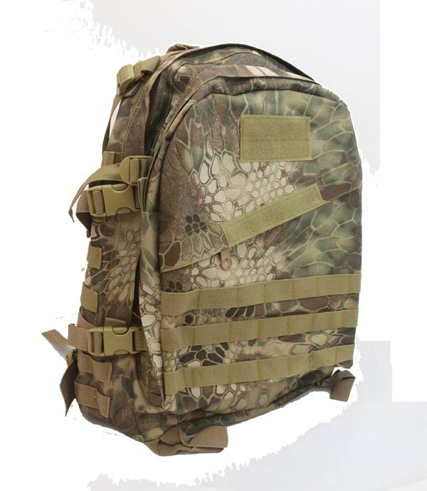 AIII style 3-Day MOLLE Backpack - Python Snake Camo HLD Highland
