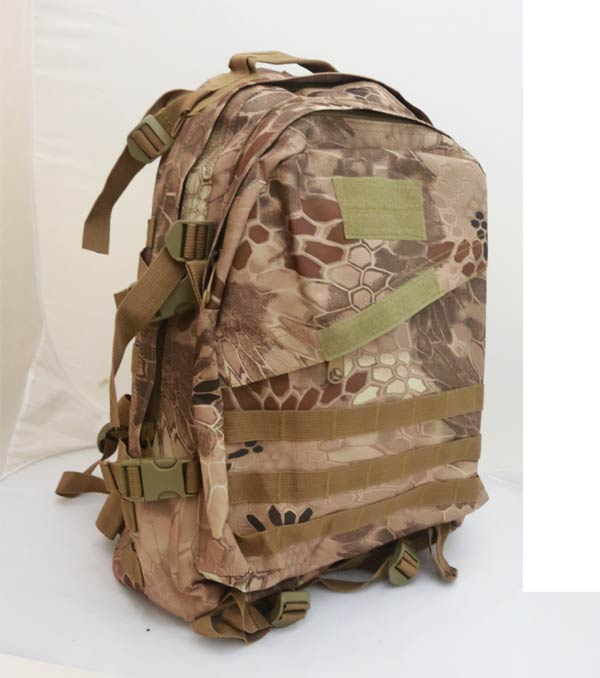 AIII style 3-Day MOLLE Backpack - Python Snake Camo MAD