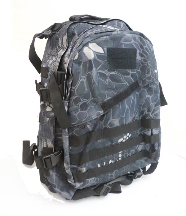 AIII style 3-Day MOLLE Backpack - Python Snake Camo TYP Night Urban Marines