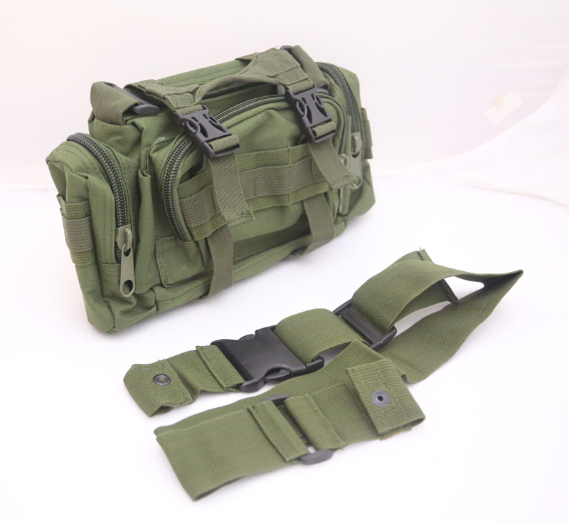 Tactical Waist Butt Shoulder Pack - OD