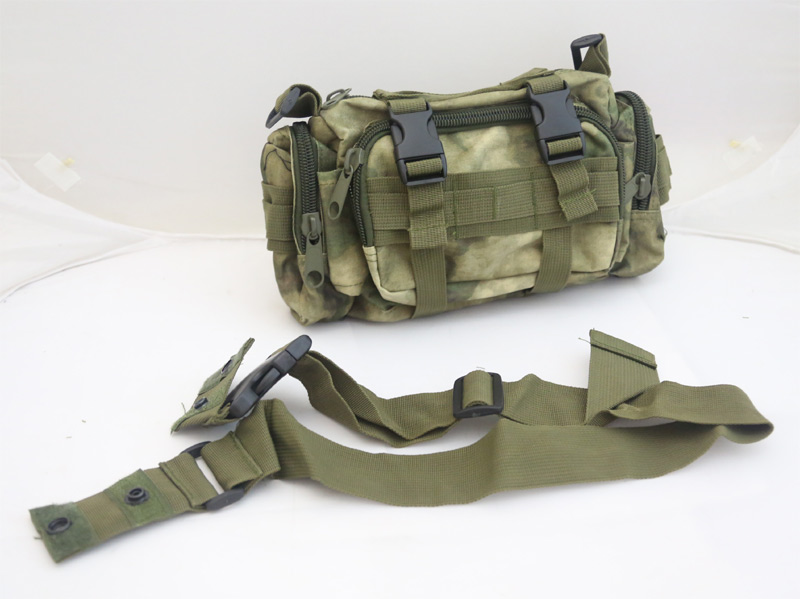 Tactical Waist Butt Shoulder Pack - A-TACS/FG
