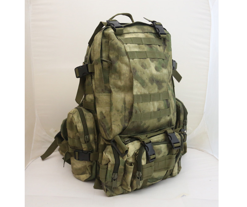 3-Day MOLLE Assault Backpack w/ 3 Pouch - A-TACS/FG