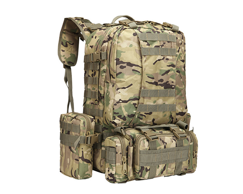 3-Day MOLLE Assault Backpack w/ 3 Pouch - Multicam MC