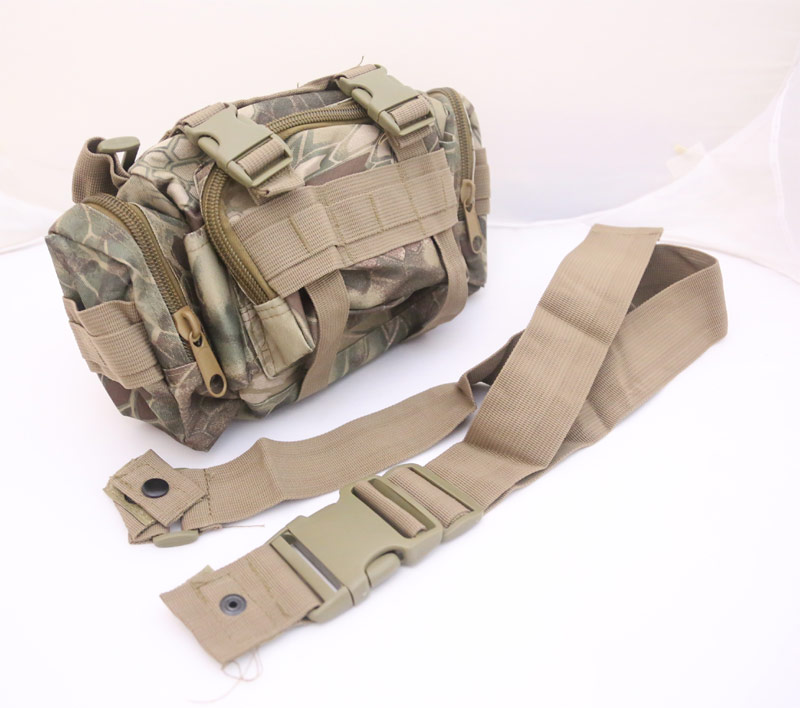 Tactical Waist Butt Shoulder Pack - Python Snake Camo - HLD Highland