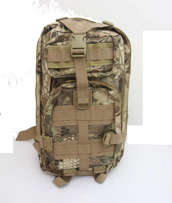 MOLLE 3P Assault Backpack – Python Snake Camo HLD Highland