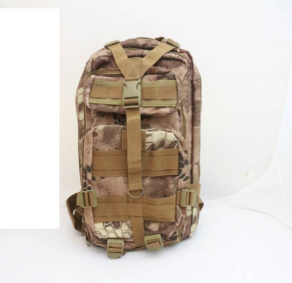 MOLLE 3P Assault Backpack – Python Snake Camo MAD
