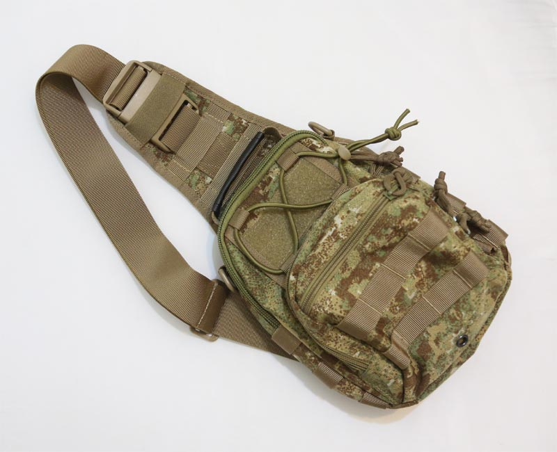 #8229 Shoulder Pack - Dot Camo Highland