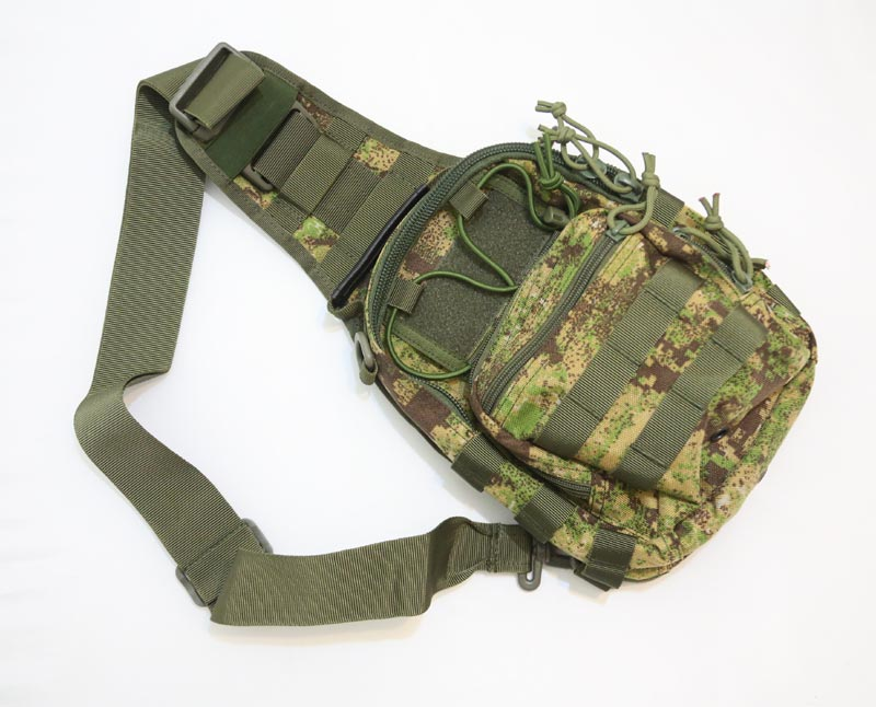 #8229 Shoulder Pack - Dot Camo Woodland