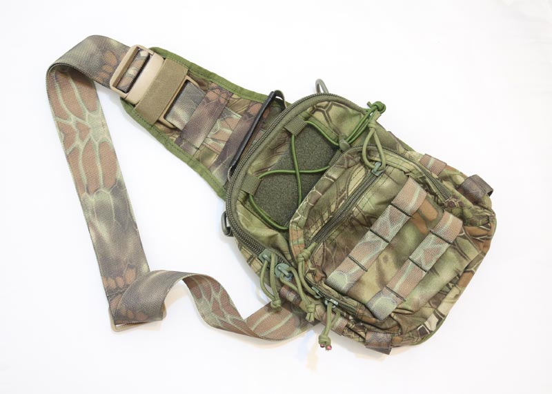 #8229 Shoulder Pack - Snake Camo HLD Highland