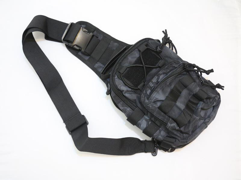 #8229 Shoulder Pack - Snake Camo TYP