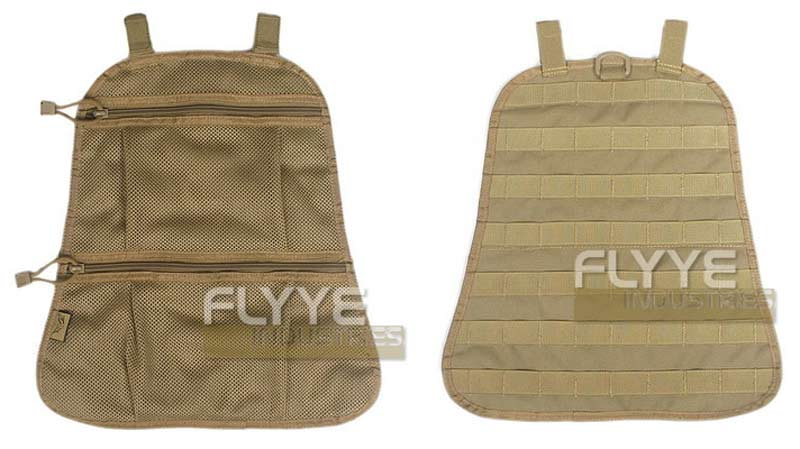 FLYYE Fast EDC Back Pack Built-in MOLLE Panel + Net Bag