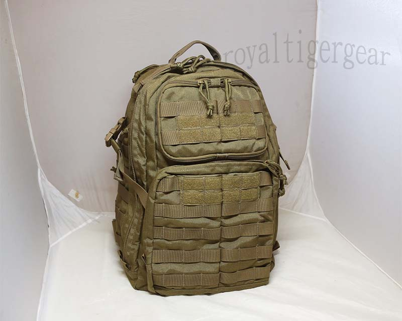 Tactical MOLLE 72 Hour Backpack – Dark Earth