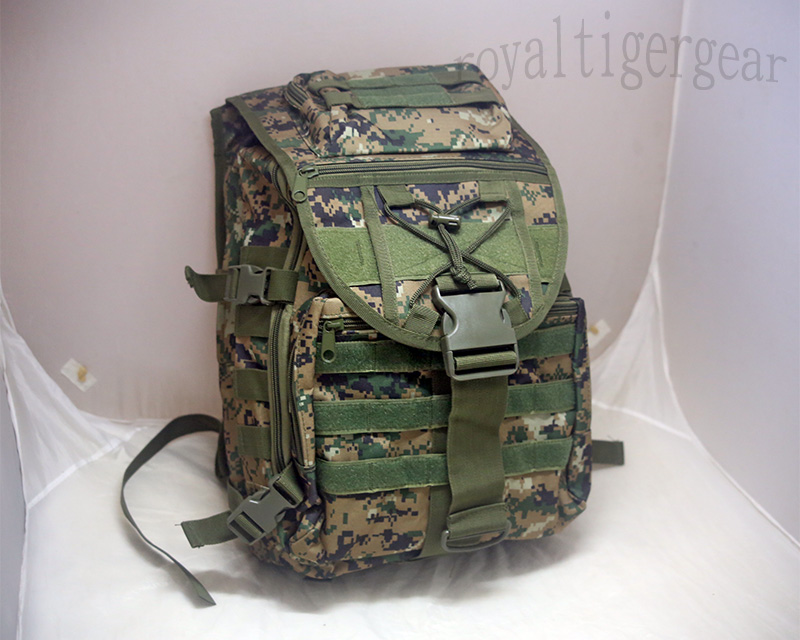 Top Cover Backpack – Digital Woodland Camo