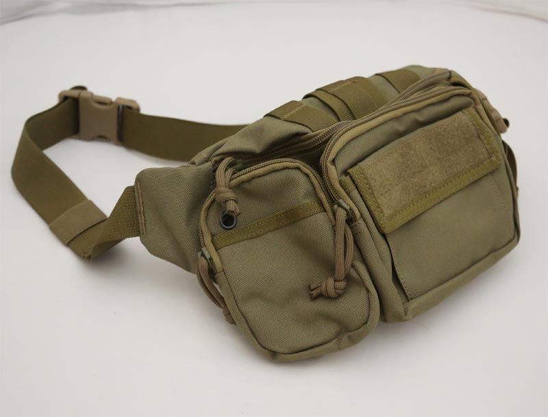 #9034 Waist Pack w/ Removable Pouch - Khaki