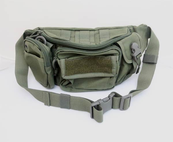 #9034 Waist Pack w/ Removable Pouch - Ranger Green