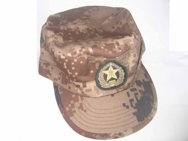 China PLA Type 07 Digital Highland Desert Camo Cap