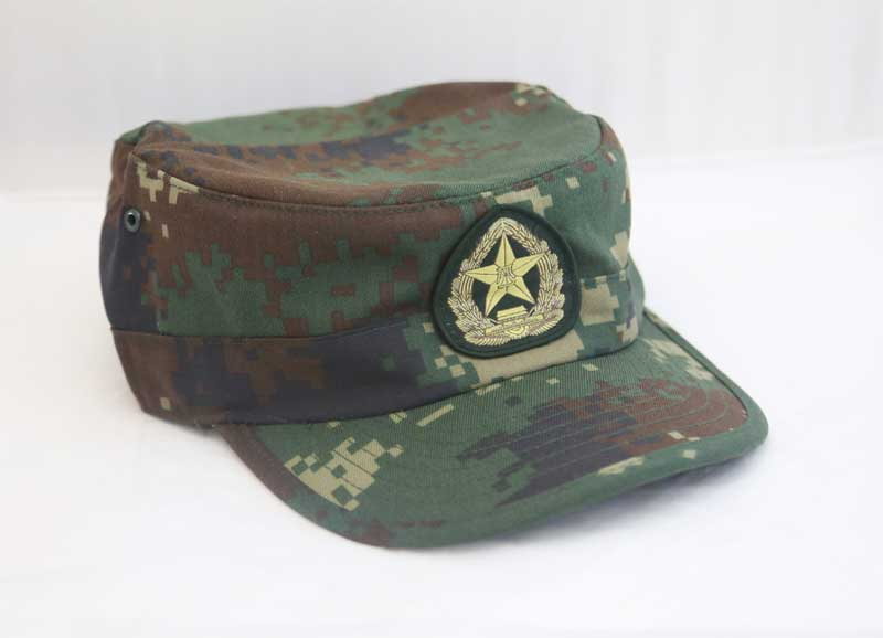 China PLA Type 07 Digital Woodland Special Force Camo Cap