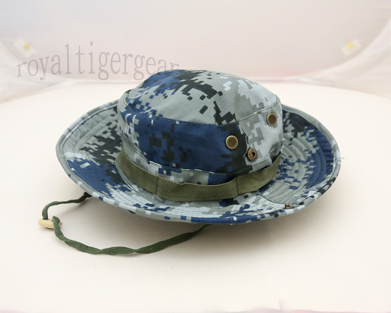 China PLA Type 07 Digital Urban City Air Force Camo Boonie Hat