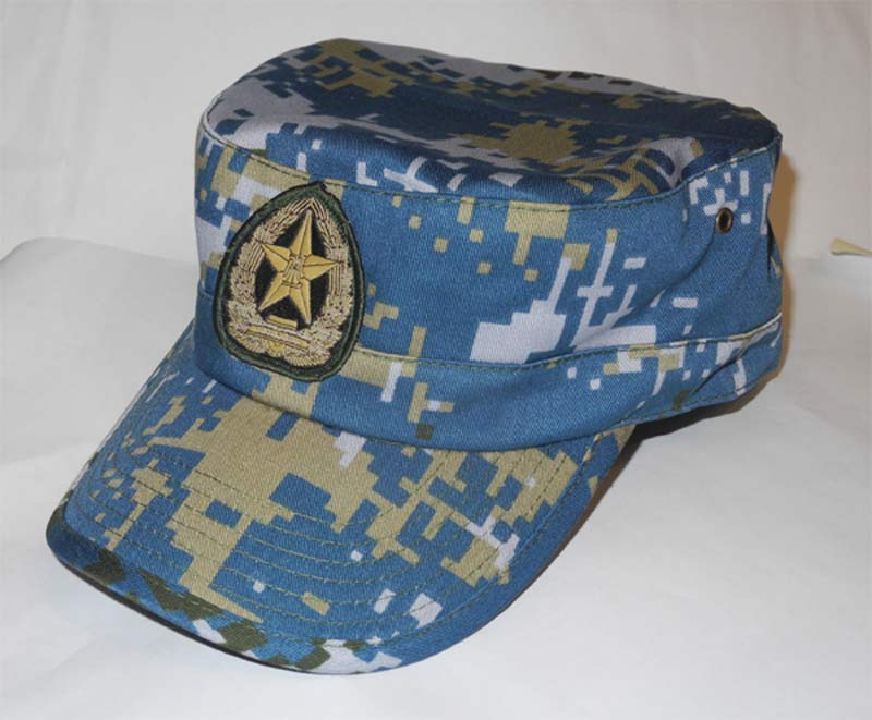 China PLA Type 07 Digital Ocean Camo Cap