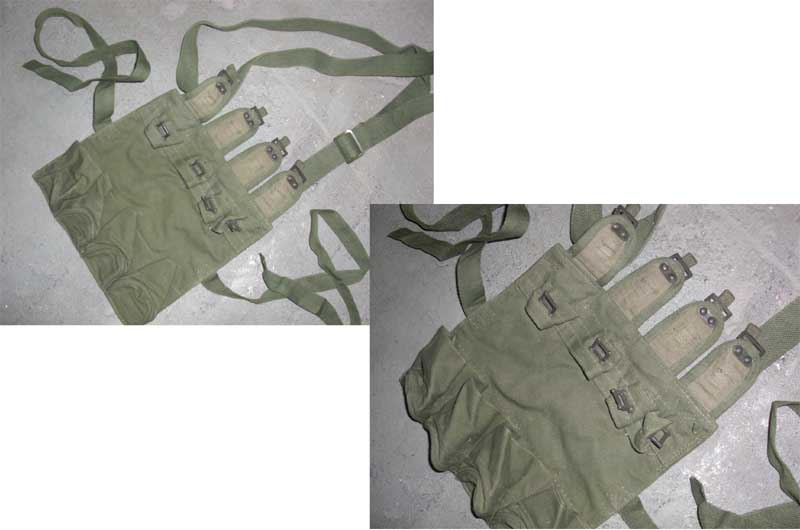 China PLA Type 72 Quad. Stick Grenade Pouch