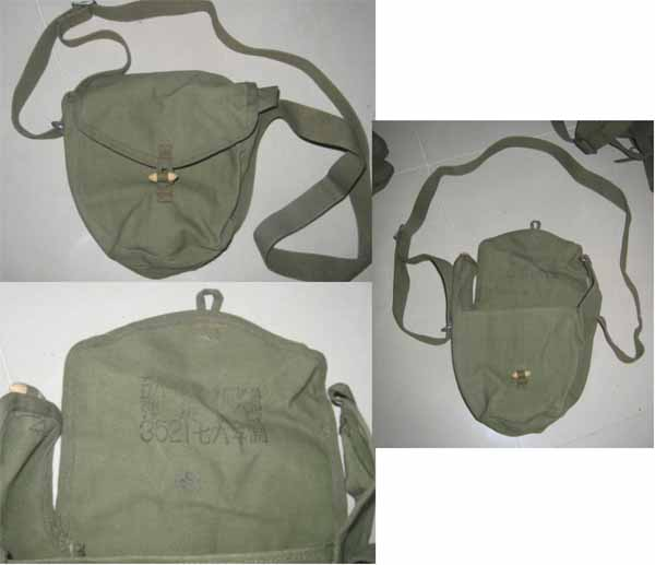 China PLA Round Ammo Pouch for PPSh-41 / RPD / Type 56 / Type 81 Squad Machine Gun