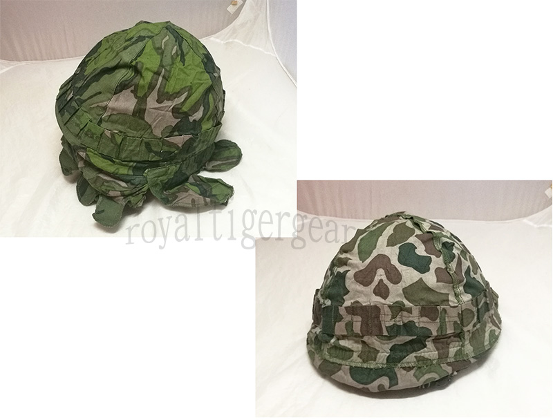 China PLA Type 81 Vietnam Double Side Reversible Leaf Camo Helmet Cover