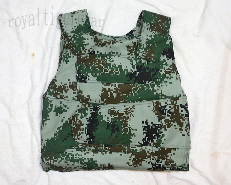 China PLA Type 07 Digital Universal Camo Protective Armor Vest