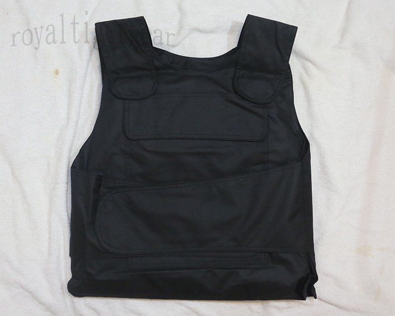 China PLA Type 07 Protective Armor Vest - Black