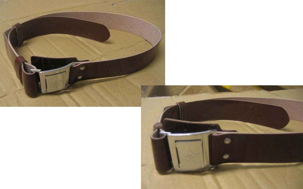 China PLA Outer Leather Belt