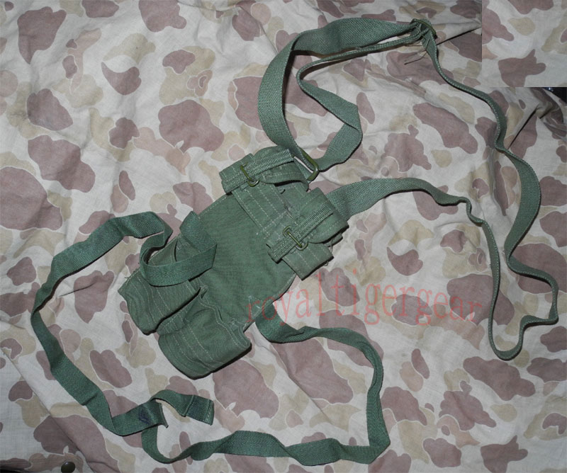 China PLA Type 72 Double Stick Grenade Pouch