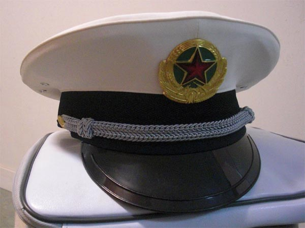 China PLA Navy Dress Hat