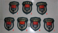 China PLA Type 07 Sleeve Chief Department Patch