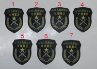 China PLA Type 07 Sleeve District Patch