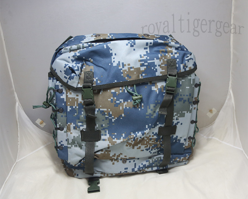 China PLA Type 07 Digital Ocean Camo Patrol Backpack