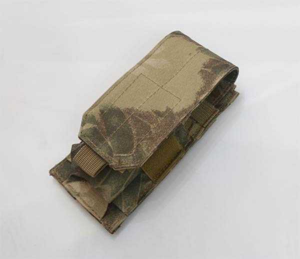 Single M4 Mag MOLLE Pouch - Python Snake Camo HLD Highland