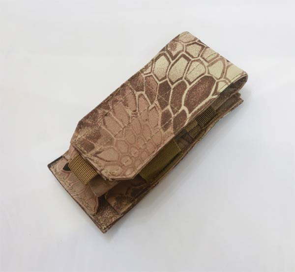Single M4 Mag MOLLE Pouch - Python Snake Camo MAD