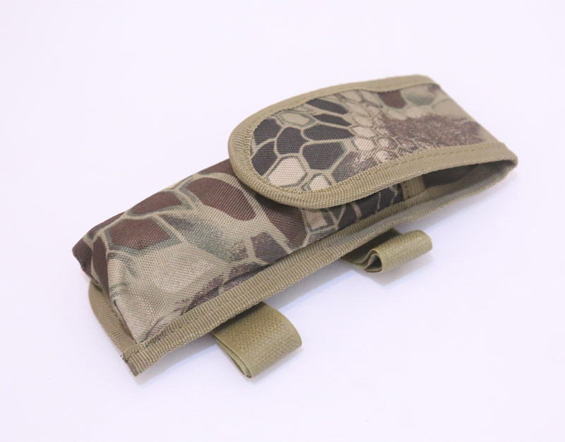 Knife / Battery Pouch - Python Snake Camo HLD Highland