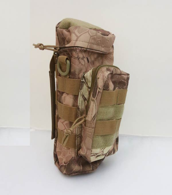 Tactical Bottle MOLLE Pouch - Python Snake Camo MAD
