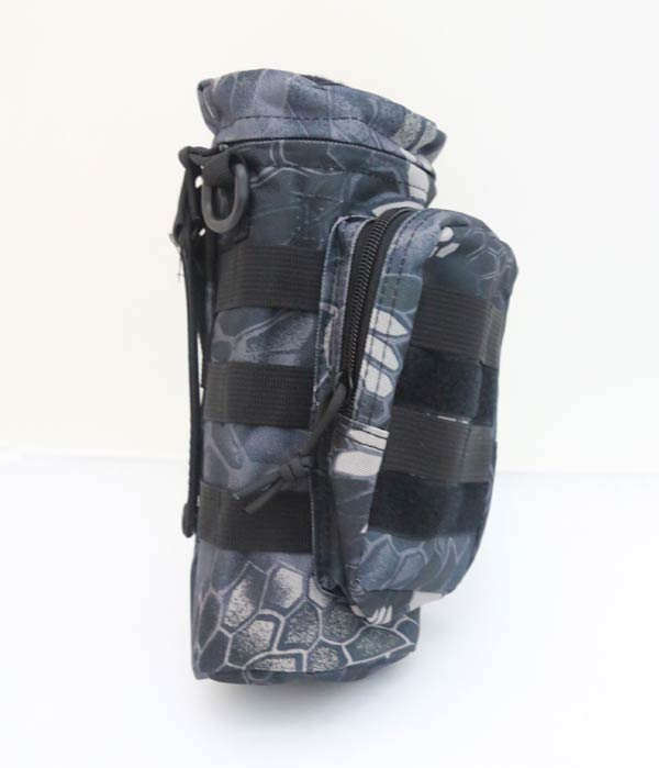 Tactical Bottle MOLLE Pouch - Python Snake Camo TYP