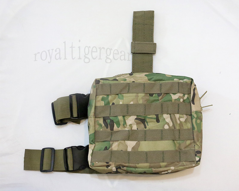 Tactical Drop Leg MOLLE Pouch - Multicam MC