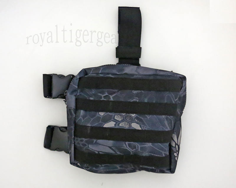 Tactical Drop Leg MOLLE Pouch - Python Snake Camo TYP Night Urban Marines