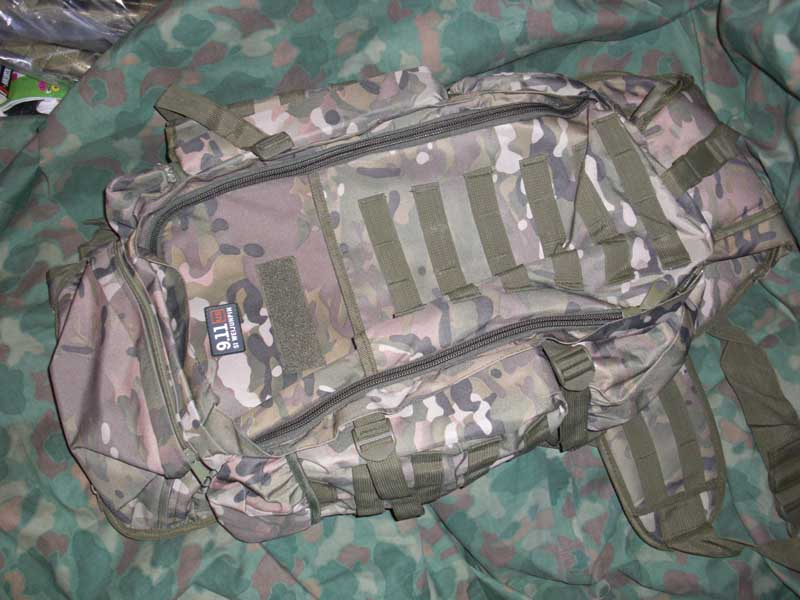 Rifle Tactical Back Pack - Multicam MC