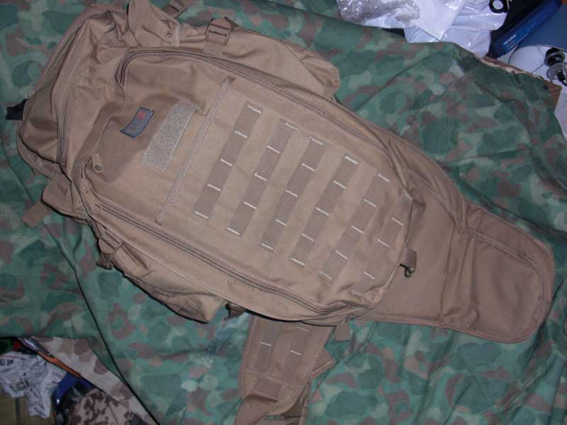 Rifle Tactical Back Pack - Tan