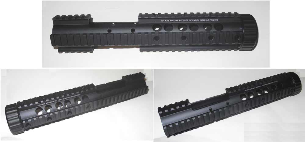 M4 M16 RIS CQB Handguard / Handguard Nut / Barrel Nut –Model.B , Rail Front Filler Tube