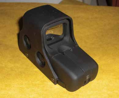 Tactical 551 Red & Green Dot Holographic Weapon Sight - Black