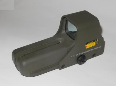 Tactical 552 Red & Green Dot Holographic Weapon Sight - OD