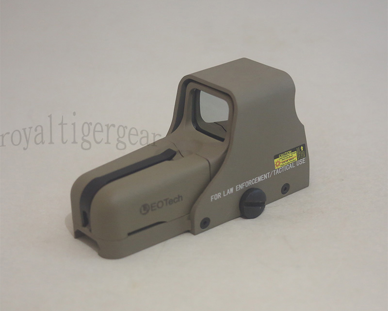Tactical 553 Red & Green Dot Holographic Weapon Sight - Dark Earth